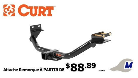 attache remorque Curt Hitches
